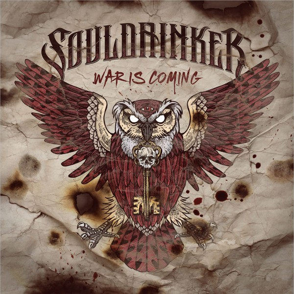 Cover SOULDRINKER - War Is Coming
