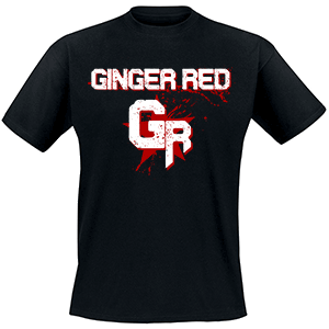 Front GINGER RED - Bandshirt
