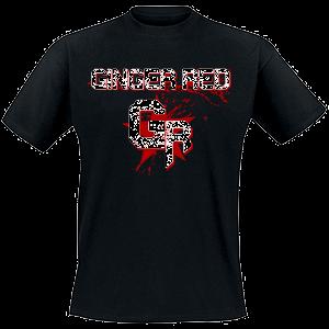 Front GINGER RED - Bandshirt