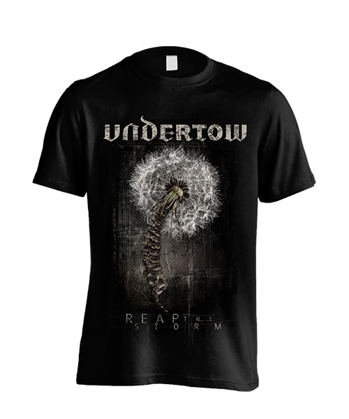 Front: UNDERTOW - Cover-Shirt Reap The Storm