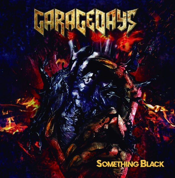GARAGEDAYS - Something Black Front Cover