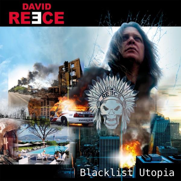 DAVID REECE - Blacklist Utopia - Front Cover
