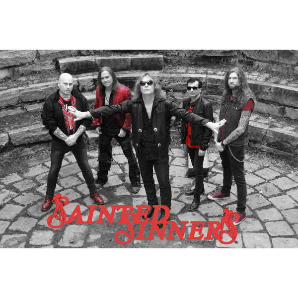 SAINTED SINNERS - Poster DIN A2, signed (Sainted Sinners)