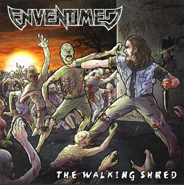 ENVENOMED - The Walking Shred Front Cover