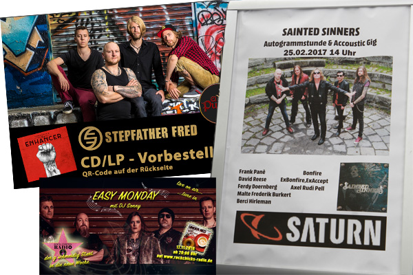 Flyer - Radio - Signing Sessions