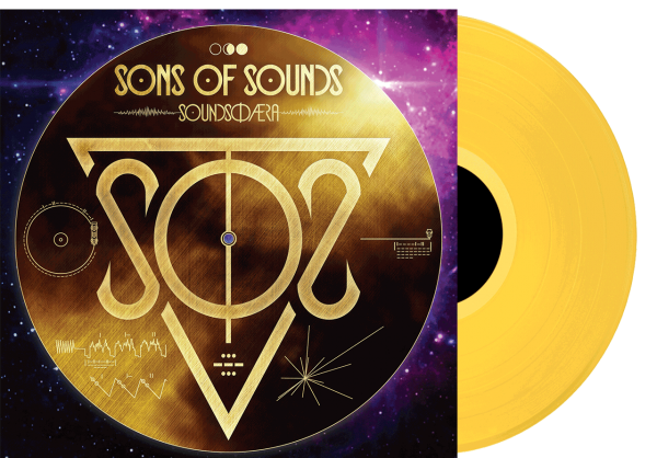 SONS OF SOUNDS - Soundsphaera Cover LP