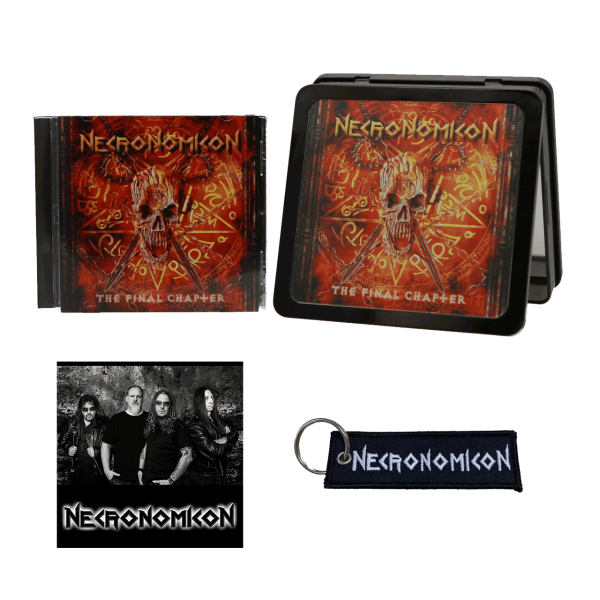 "NECRONOMICON - The Final Chapter [Black Steel Box ""Limited Edition""]"
